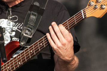 Fingers on the strings