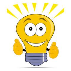 иллюстрация лампа