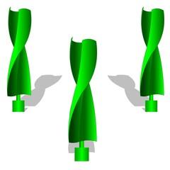 Savonius windmill renewable energy green