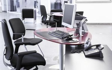 Großraumbüro, Arbeitsplatz