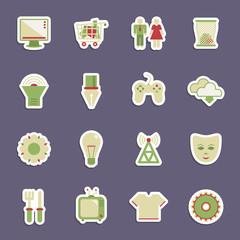media stickers