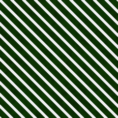 Hunter Green and White Striped Pattern Repeat Background