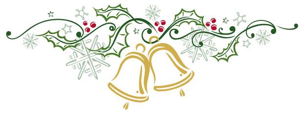 Weihnachten, Stechpalme, Glocken