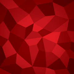 Abstract vector geometry background, red planes, more surfaces