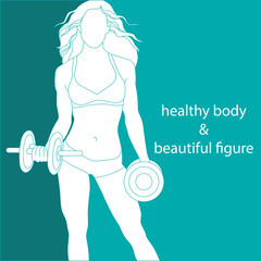 healthy body and beautiful figure