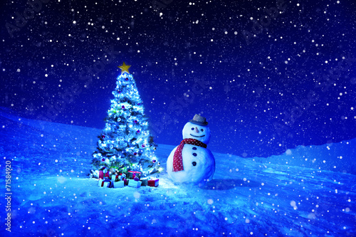 canvas print picture Christmas Holiday