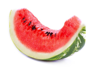 Slice of watermelon.