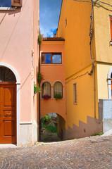 Alleyway. Brienza. Basilicata. Italy.