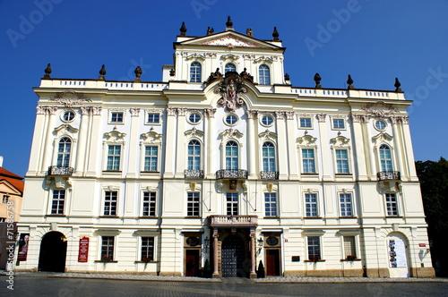 Aluminium Praag Archbishop's Palace, Prague, Czech Republic.