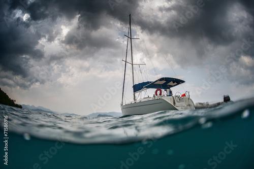 Foto op Plexiglas Zeilen Sail boat