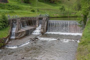 Wasserfall – Wasser – Fluss - Staustufe
