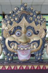 Ogre decoration in Yogyakarta Sultanate Palace