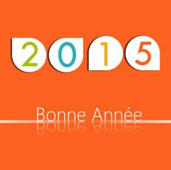 Carte Bonne Année Vintage 2015