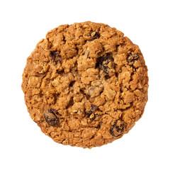 Oatmeal Raisin Cookie isolated