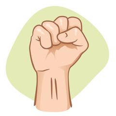 Person fist