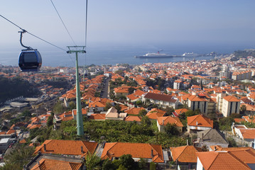 funchal town and port,madeira