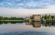 Imatra dam at sunset - 71590704