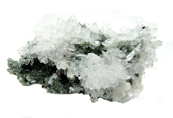 rock crystal quartz geode geological crystals
