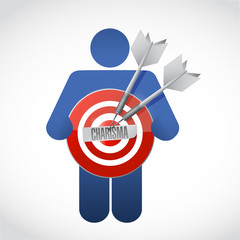 icon holding a charisma target