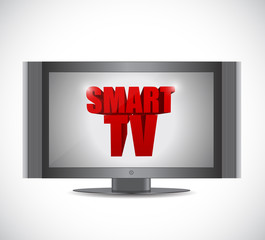 smart tv illustration design