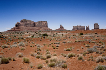 monument valley riserva indiana deserto formazioni geologiche