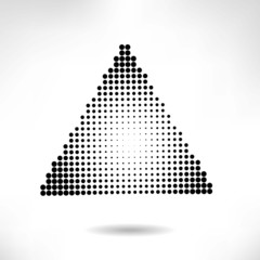 Abstract Halftone Design Elements, vector illustration