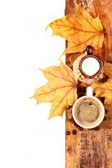 coffee and milk jug