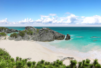 Caribbean Exotic Beach in Bermuda