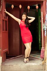 Model in Shanghai