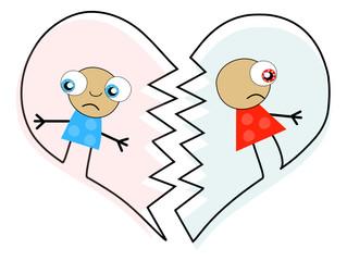 Divorce ou séparation