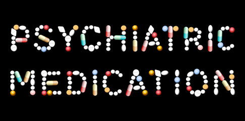 Psychiatric Medication Pills
