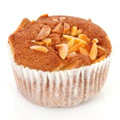 biscuit cupcake with nuts