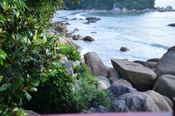 Teluk Cempedak at dawn