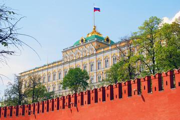 Moscow Kremlin. The Big Kremlin Palace.