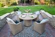 Место для отдыха в саду / Rest place in the garden - 71597323
