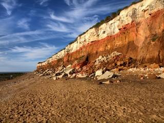 Board of North sea in UK
