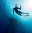 Free diver
