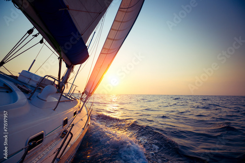 Poster Jacht Sail boat