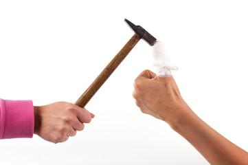 Colpire con il martello
