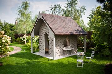 Патио в саду / Garden patio