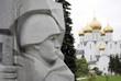 War memorial and Assumption Church in Yaroslavl, Russia.
