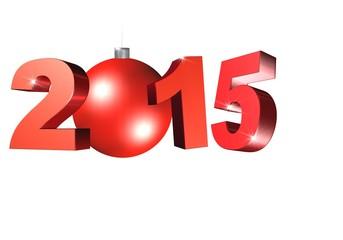 2015 rouge avec boule