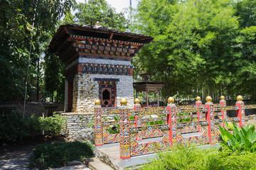 the design of bhutan bridge and building