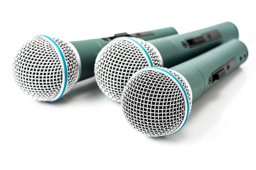 Triple microphone