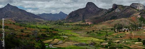 Leinwanddruck Bild Madagascar