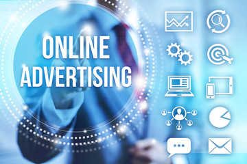 Online internet advertising
