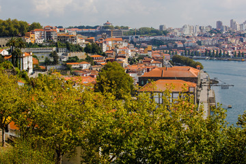 Porto Hafenbereich am Pier