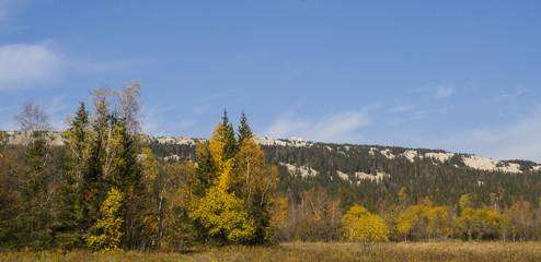 Хребет горы Зюраткуль