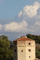 Nebojsa tower,part of Kalemegdan fortress in Belgrade,Serbia.