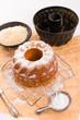 Obrazy na płótnie, fototapety, zdjęcia, fotoobrazy drukowane : gluten-free cake with rice flour and kaymak